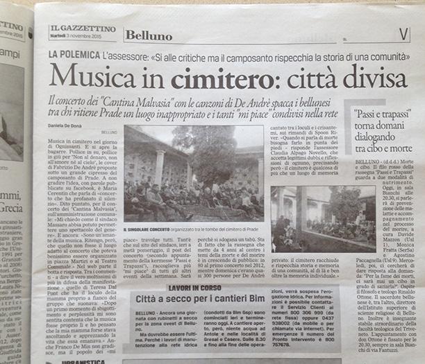 Fonte: Il Gazzettino